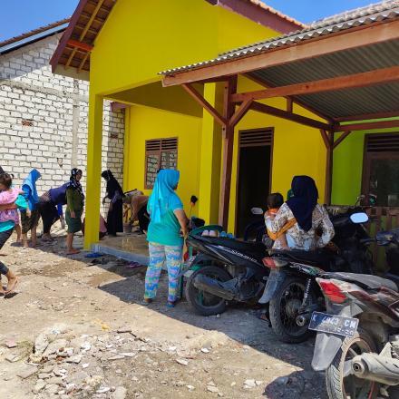 Bulan Bersih - bersih TP. PKK Desa Sumbangrejo